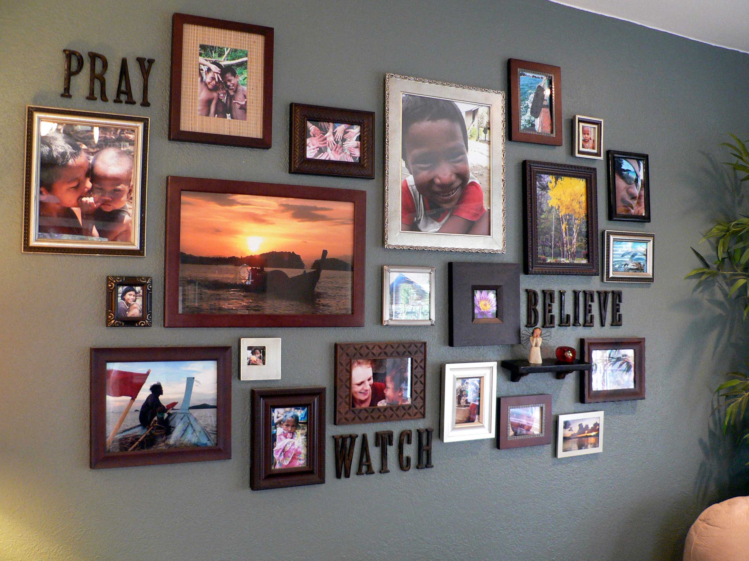 Photowall picture wall gallery walls pinterest Wall pictures
