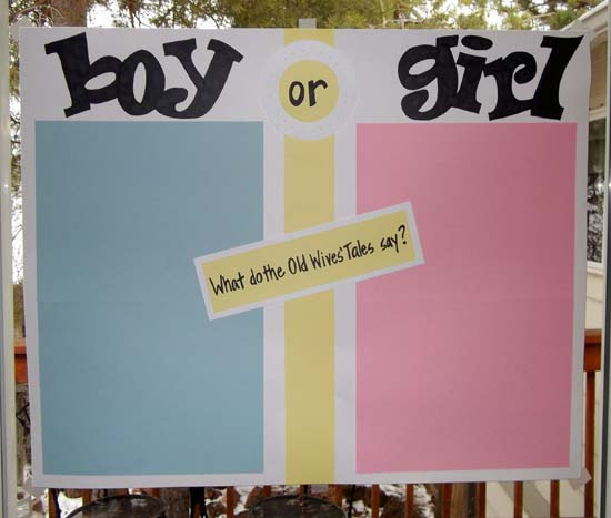 Baby Gender Reveal Party Activity Ideas – Announcing Gender of Baby Ideas