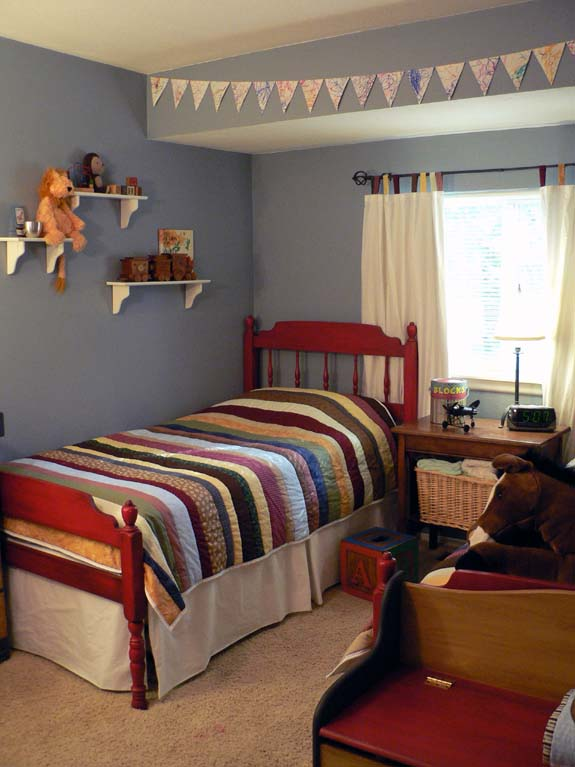 Kids bedroom reveal lots of before and after pictures for Room decor for 6 year old boy