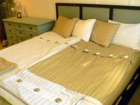 His Hers And Ours Comforters And How To Make Your Own