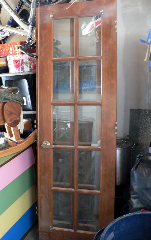 Since we bought used ... & How to Paint French Doors | SnugasaBugBaby