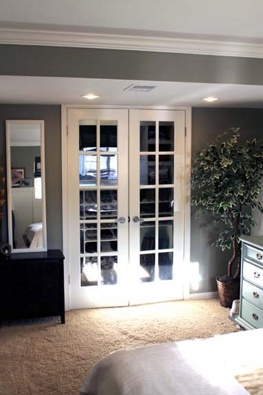 I found this set of french ... & How to Paint French Doors | SnugasaBugBaby