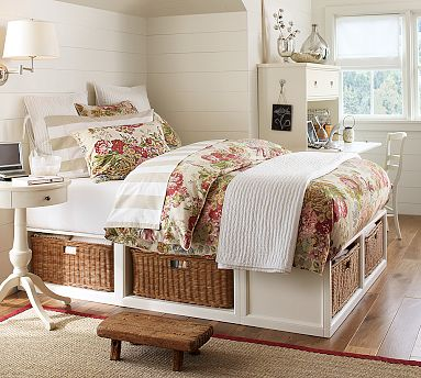Pottery Barn Knock Off King Size Stratton Bed Rustic Sunshine