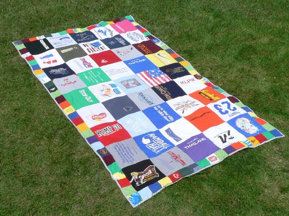 Quilts Made Out Of Shirts